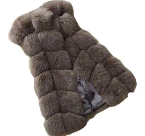 De Oversize Haute Hiver Chaud Art Confortable Femme Fourrure Longues Jacket Fourrure Gilet Qualit Laineux De dpFqHd