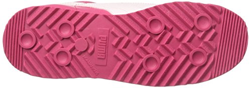 Puma Kids Roma Basic Glitter PS Sneaker Rose Red/Pink Dogwood