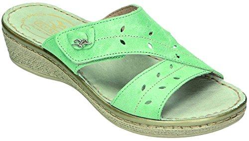Fly Flot - Zuecos para mujer Verde verde Verde - verde