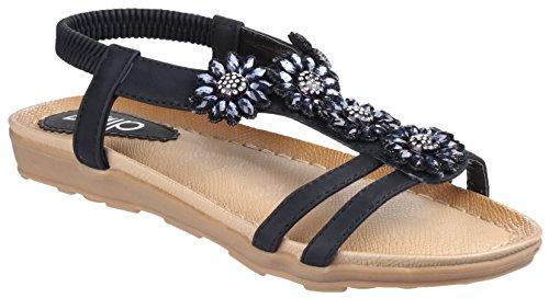 Divaz - Zapatos con correa de tobillo mujer