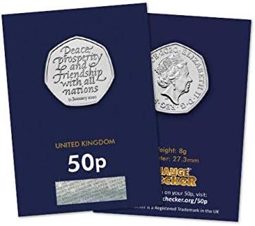 Change Checker 2020 UK Withdrawal From the EU BU 50p