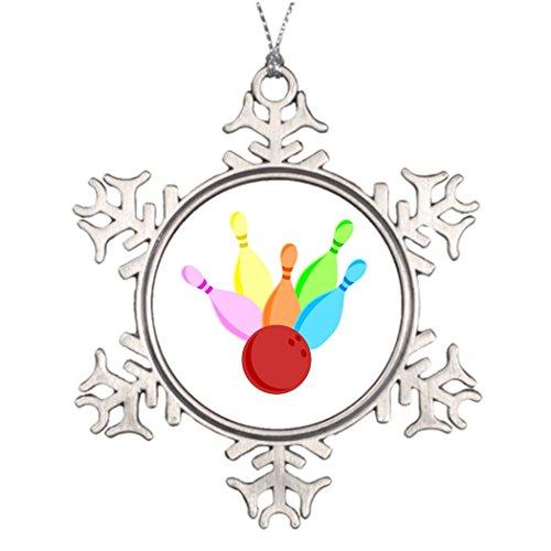 Ai Vion Personalised Christmas Tree Decoration Ten Pin Bowling Halloween Tree -