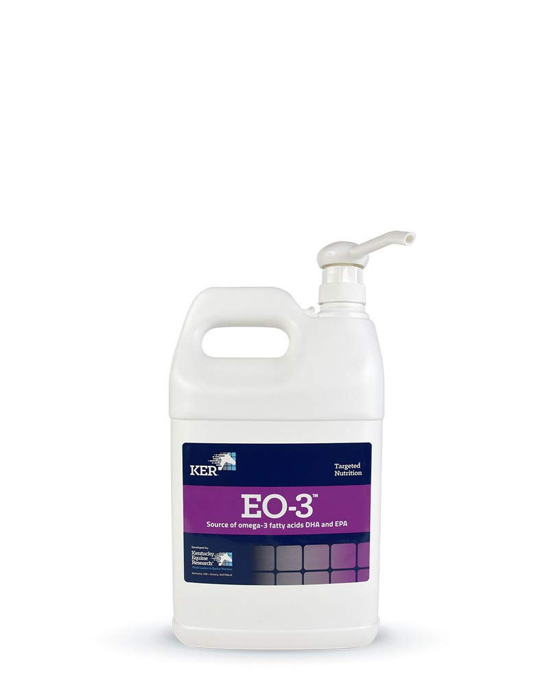 Kentucky Equine Research 044014 Eo 3 Omega-3 Supplement for Horses, 1 Gallon