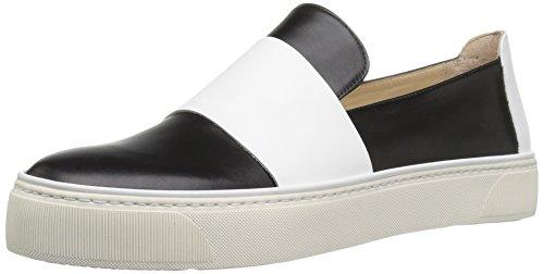 Stuart Weitzman Women's Boyband Fashion Sneaker, Black, 9 M US 41yHgoUS0wL