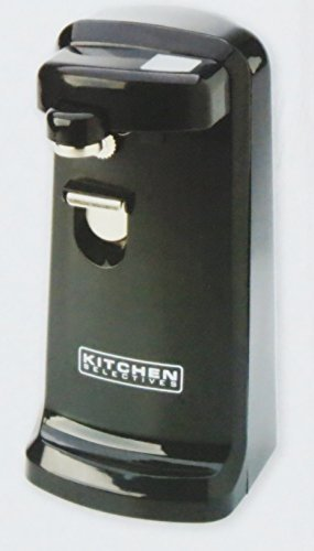Kitchen Selectives Colors Black Electric Can Opener