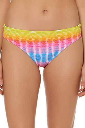 (Bleu Rod Beattie Women's Ruched Back Basic Hipster Bikini Bottom Multi 10)