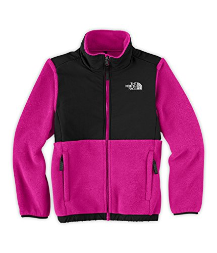 The North Face Denali Jacket - Girl's Razzle Pink/TNF Black Large by The North Face