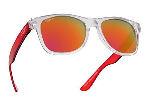 BOOM Spectrum Polarized Sunglasses by Dimensional Optics - CHERRY BOMB