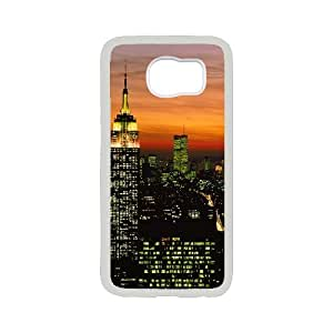 New Style City Lights Image Phone Case For Samsung Galaxy S6
