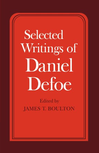 Selected Writings of Daniel Defoe