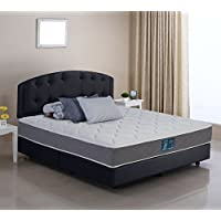 Wolf Sleep Accents 10  Deluxe Firm Mattress with Wrapped Coil Innerspring Unit, Full, Bed in a Box, Made in the USA