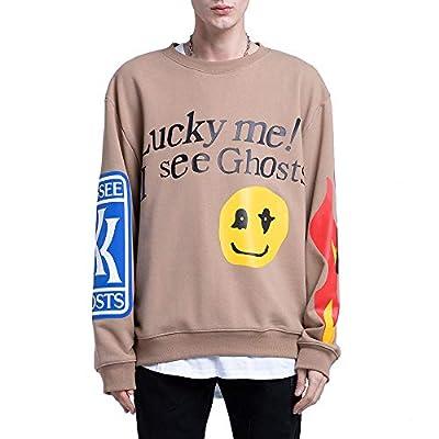 NAGRI Kanye -West Lucky Me I See Ghosts Trendy Hip Hop Men's Sweatshirts Hoodie