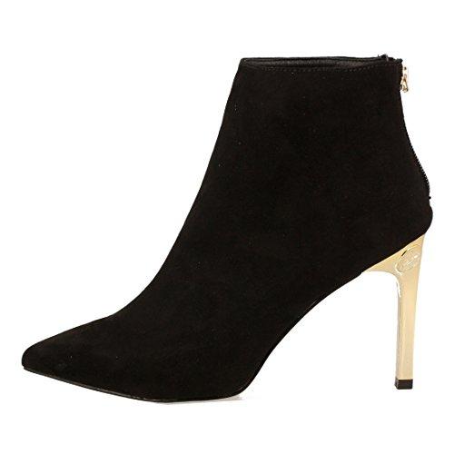 Silver Velour Heel Boots Linea Ankle Versace Jeans Women's IqAtw06