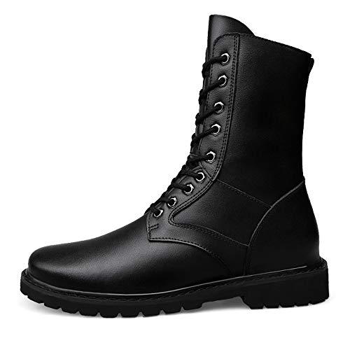 Negro Media A Bnd Soportar Eedition shoes De Cálido Durable; Informal Ejército Cuero Botas Imitación Desgaste Hombres velvet Opcional Pierna Los Genuino Actualización 1q1Bw