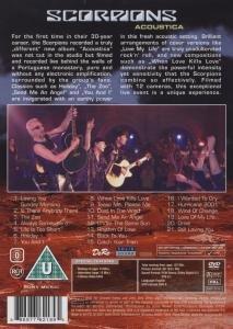 Scorpions - Acoustica [Italia] [DVD]: Amazon.es: Scorpions: Cine y Series TV