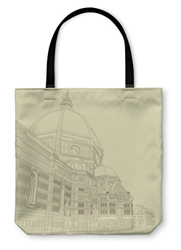 Gear New Shoulder Tote Hand Bag, Duomo In Florence, 13x13, 5585389GN by Gear New