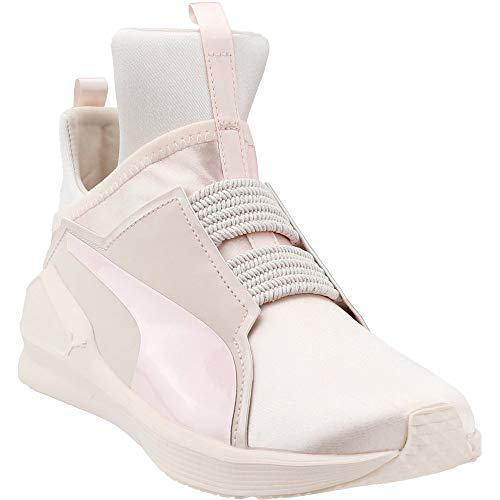 PUMA Women s Fierce Satin En Pointe Wn Sneaker Pearl 8 ... 26a2c952c