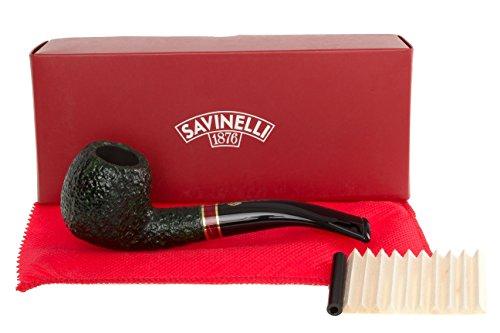 Savinelli St Nicholas 2016 Rustic 626 Tobacco Pipe by Savinelli