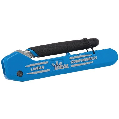 Ideal Omniseal Connector Compression Tool - IDEAL 33-632 Linear(R)X3 Compression Tool (Adjustable for F/BNC/RCA)