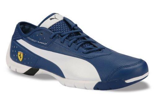 puma blue ferrari shoes