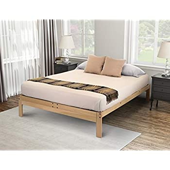 Amazon.com: KD Frames Nomad 2 Platform Bed - Queen: Kitchen & Dining
