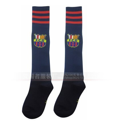 Barcelona Kids Youth Soccer Socks (blue) Sold by Moda Services