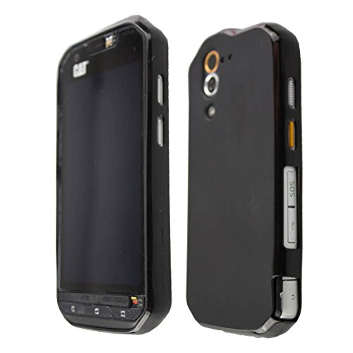 caseroxx Smartphone Case CAT S60 TPU-Case - Shock Absorption, Bumper Case in Black