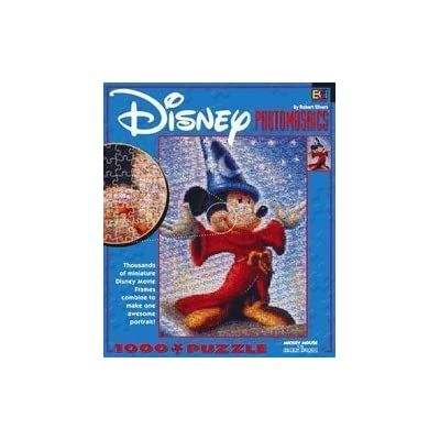 Disney Photomosaics 1000 Pc Puzzle Mickey Mouse As The Sorcerers Apprentice By Buffalo Games