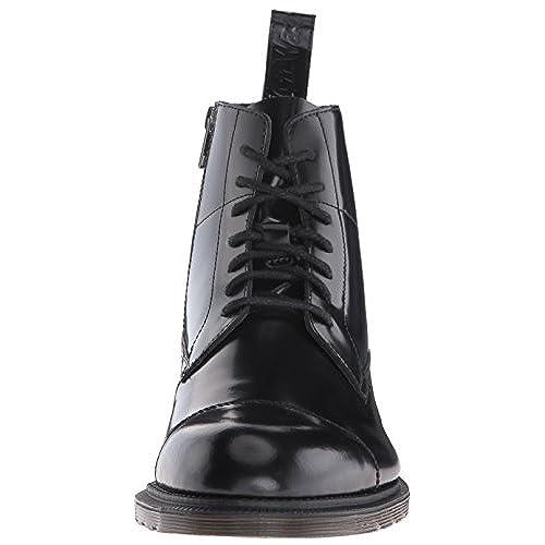 60%OFF Dr. Martens Winchester Black Polished Smooth, Bottes