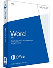 Word 2013 English (1PC/1User) (PC Key Card)
