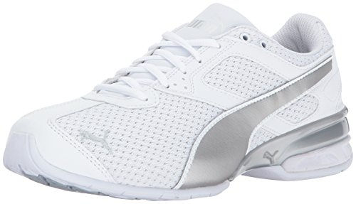 Puma Kvinders Tazon 6 Strik Wn Sneaker Puma Hvid-puma Sølv 2s2jZU13jM