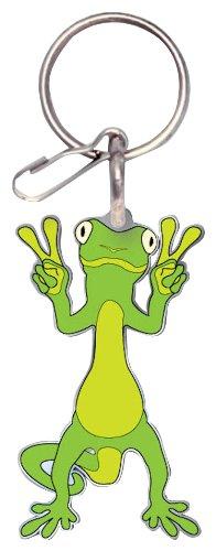 - Plasticolor 004246R01 Enamel Gecko Key Chain