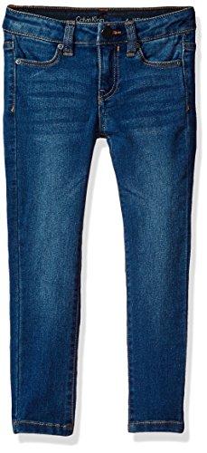 (Calvin Klein Jeans Girls' Big Ultimate Skinny Jean, Agedindigo, 10)