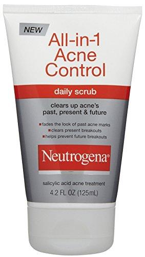 Neutrogena All-in-1 Acne Control Daily Scrub-4.2 oz