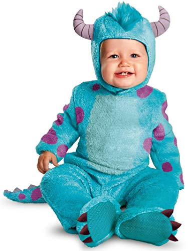 Monster Inc Infant Halloween Costume (Disguise Costumes Disney Pixar Monsters University Sulley Classic Infant, Blue/Purple, 12-18)