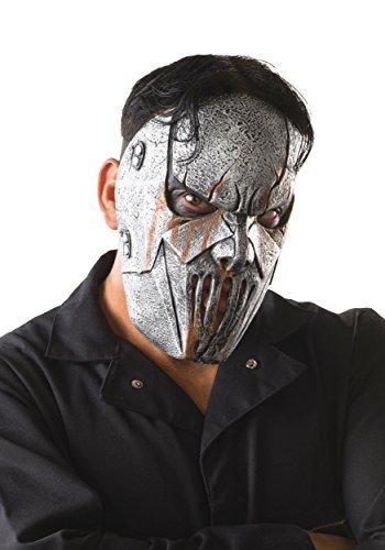 Rubie's Men's Slipknot Mick Face Mask, Multi, One Size