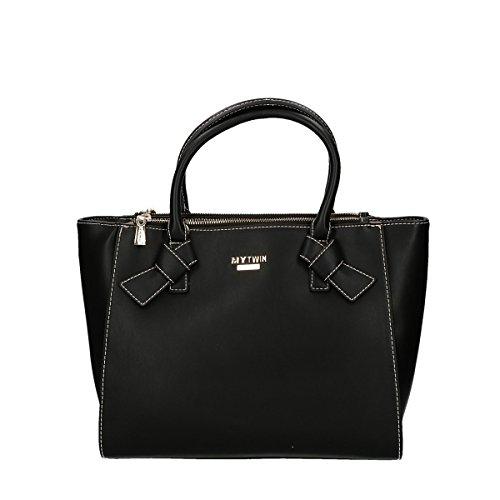 Twin set handbag with belt black