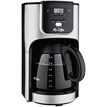 mr coffee performance brew 12 cup programmable coffee maker stainless steel drip. Black Bedroom Furniture Sets. Home Design Ideas