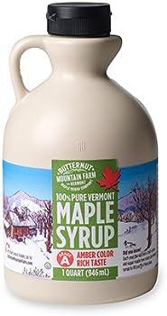 Butternut Mountain Farm 100% Pure Maple Syrup Jug 1 Qt