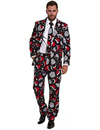 Christmas Xmas Party Stag Do Suit Fancy Stand Out Dress Costume Festive Holiday Season 2018