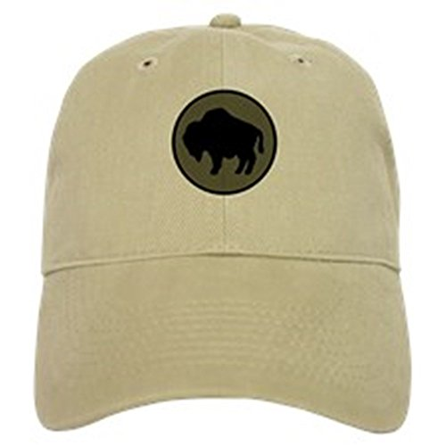 CafePress - Buffalo Soldiers - Baseball Cap with Adjustable Closure, Unique Printed Baseball Hat Khaki