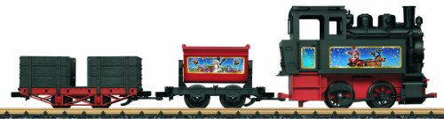 Battery-Powered Starter Set with Sound Christmas Theme - G Scale