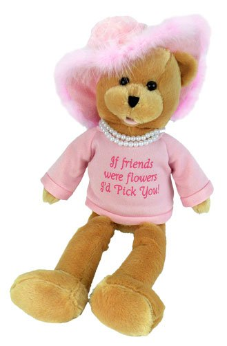 "Chantilly Lane Pearl's Wisdom 19″ T-Shirt sings ""That's What Friends Are For"" (Pink)"