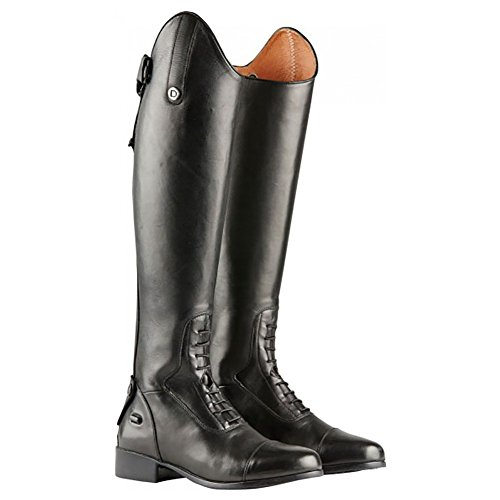 Dublin Galtymore Ladies Tall Field Leather Boot - Black Black hiMJX
