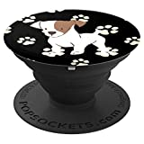 Cute Dog PopSockets - Jack Russell - PopSockets Grip and Stand for Phones and Tablets