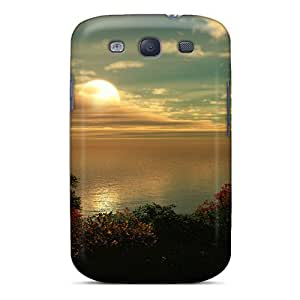 New Premium Flip Case Cover Great Sunset Skin Case For Galaxy S3