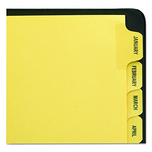 - Avery Preprinted Dividers with JAN-DEC Tabs, 1 Set (11307)