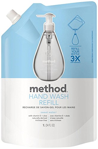 method-gel-hand-wash-refill-pouch-sweet-water-34-oz