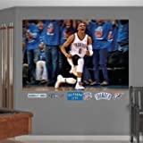 Oklahoma City Thunder Russell Westbrook Celebration Mural Decal Sticker Wall Mural 72 x 48in