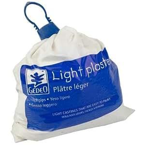 Gedeo - Yeso ligero (1 kg, 20 unidades), color blanco